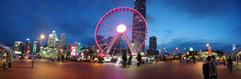 Foto av The Hong Kong Observation Wheel and AIA Vitality Park i Central, Central and Western District, Hong Kong
